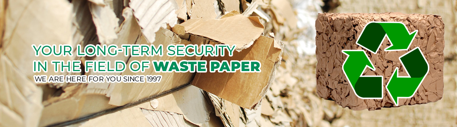 EURO WASTE, s.r.o. - Your stable recovery paper supplier